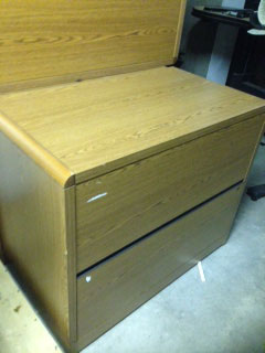 Lateral 2 drawer file