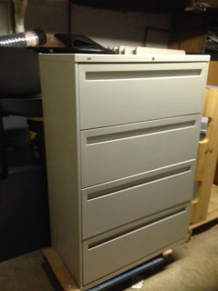 lateral 4 drawer file