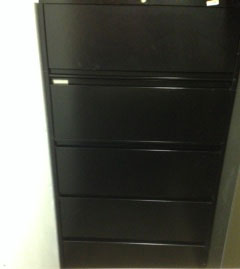 lateral 5 drawer files